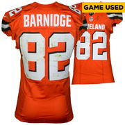 Gary Barnidge Cleveland Browns Fanatics Authentic Game-Used #82 Orange Jersey vs. Pittsburgh Steelers on November 20