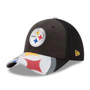 Pittsburgh Steelers New Era 2017 NFL Draft On Stage 39THIRTY Flex Hat - Black