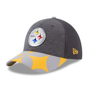 Pittsburgh Steelers New Era NFL Spotlight 39THIRTY Flex Hat - Graphite