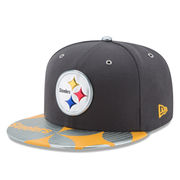 Pittsburgh Steelers New Era NFL Spotlight 59FIFTY Fitted Hat - Graphite