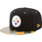 Pittsburgh Steelers New Era NFL Spotlight 59FIFTY Fitted Hat - Black