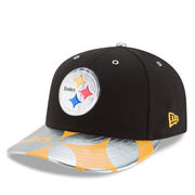 Pittsburgh Steelers New Era NFL Spotlight Low Profile 59FIFTY Fitted Hat - Black