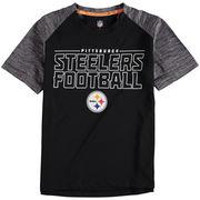Pittsburgh Steelers Youth Juggernaut T-Shirt - Black