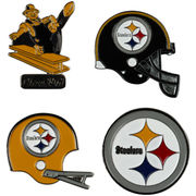 Pittsburgh Steelers Evolution 4-Piece Pin Set