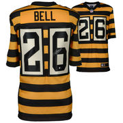 Le'Veon Bell Pittsburgh Steelers Fanatics Authentic Autographed Nike Elite Throwback Jersey