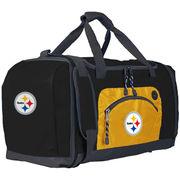 Pittsburgh Steelers The Northwest Company Roadblock Duffel Bag - Black