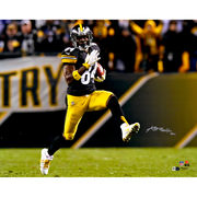 Antonio Brown Pittsburgh Steelers Fanatics Authentic Autographed 16'' x 20'' High Step Photograph