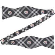 Pittsburgh Steelers Rhodes Self-Tie Bow Tie - Black