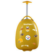 Pittsburgh Steelers Youth Wheeled Luggage - Gold