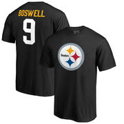 Chris Boswell Pittsburgh Steelers NFL Pro Line by Fanatics Branded Team Icon T-Shirt - Black