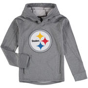 Pittsburgh Steelers Youth Pullover Hoodie - Gray