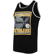 Pittsburgh Steelers Majestic Invaluable Experience Tank Top - Black