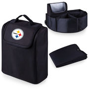 Pittsburgh Steelers Trunk Boss Organizer with Cooler - Black