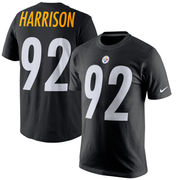 James Harrison Pittsburgh Steelers Nike Player Pride Name & Number T-Shirt - Black