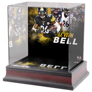 Le'Veon Bell Pittsburgh Steelers Fanatics Authentic Deluxe Mini Helmet Case