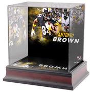 Antonio Brown Pittsburgh Steelers Fanatics Authentic Deluxe Mini Helmet Case