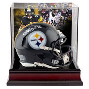 Le'Veon Bell Pittsburgh Steelers Fanatics Authentic Autographed Riddell Speed Mini Helmet with Deluxe Mini Helmet Case