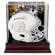 Antonio Brown Pittsburgh Steelers Fanatics Authentic Autographed Riddell Speed ICE Mini Helmet with Deluxe Mini Helmet Case
