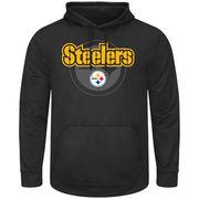 Pittsburgh Steelers Pick Six Pullover Hoodie - Black