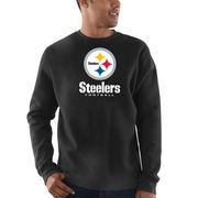 Pittsburgh Steelers Majestic Critical Victory Sweatshirt - Black