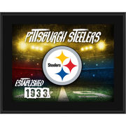 Pittsburgh Steelers Fanatics Authentic 10.5