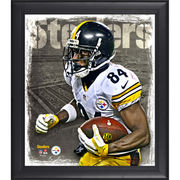 Antonio Brown Pittsburgh Steelers Fanatics Authentic Framed 15