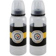 Pittsburgh Steelers 2-Pack Baby Bottle Set