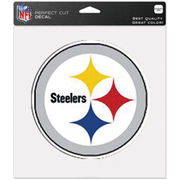 Pittsburgh Steelers WinCraft 8'' x 8'' Color Car Decal