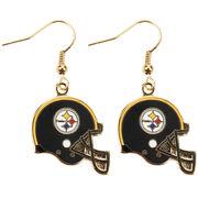 Pittsburgh Steelers Logo Wire Earrings  -