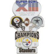 Pittsburgh Steelers Super Bowl XIII Collectors Pin