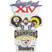 Pittsburgh Steelers Super Bowl XIV Collectors Pin