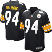 Lawrence Timmons Pittsburgh Steelers Nike Youth Team Color Game Jersey - Black