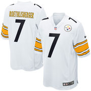Ben Roethlisberger Pittsburgh Steelers Nike Youth Game Jersey - White