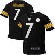 Ben Roethlisberger Pittsburgh Steelers Nike Preschool Game Jersey - Black