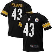 Troy Polamalu Pittsburgh Steelers Nike Preschool Game Jersey - Black