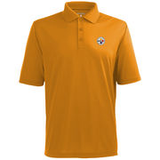 Antigua Pittsburgh Steelers Pique Xtra-Lite Polo - Gold