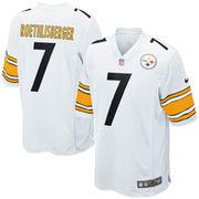 Ben Roethlisberger Pittsburgh Steelers Nike Game Jersey - White