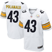 Troy Polamalu Pittsburgh Steelers Nike Elite Jersey - White