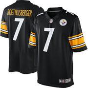 Ben Roethlisberger Pittsburgh Steelers Nike Team Color Limited Jersey - Black