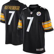 Ben Roethlisberger Pittsburgh Steelers Nike Youth Limited Jersey - Black