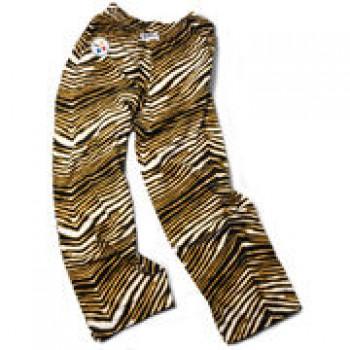 Pittsburgh Steelers Zubaz Pants - Gold/Black