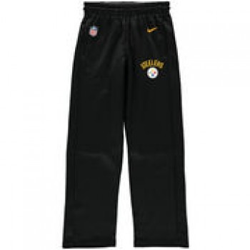 Pittsburgh Steelers Nike Youth Circuit Performance Pants - Black