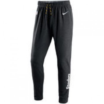 Pittsburgh Steelers Nike Touch Fleece Performance Pants - Charcoal