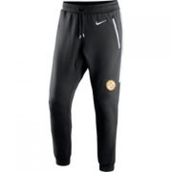 Pittsburgh Steelers Nike Champ Drive Fleece Pants - Black