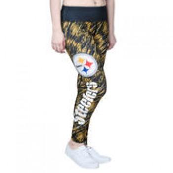 Pittsburgh Steelers Women's Static Rain Leggings - Black