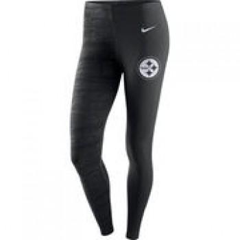 Pittsburgh Steelers Nike Women's Leg-A-See Leggings - Black/Anthracite