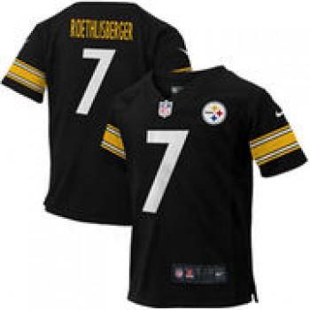 Ben Roethlisberger Pittsburgh Steelers Nike Toddler Game Jersey - Black
