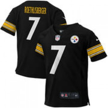 e8ab83b4a Ben Roethlisberger Pittsburgh Steelers Nike Toddler Game Jersey – Black
