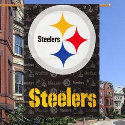 Pittsburgh Steelers Vertical House Flag