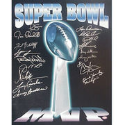 Pittsburgh Steelers Fanatics Authentic Autographed 16